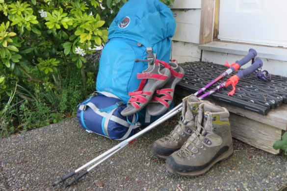packing list camino del norte