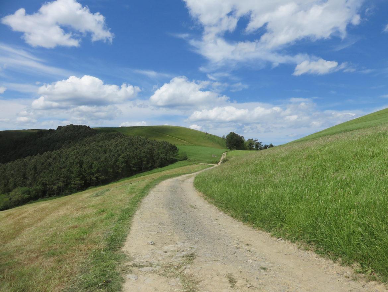 Camino del Norte between Zarautz and Deba